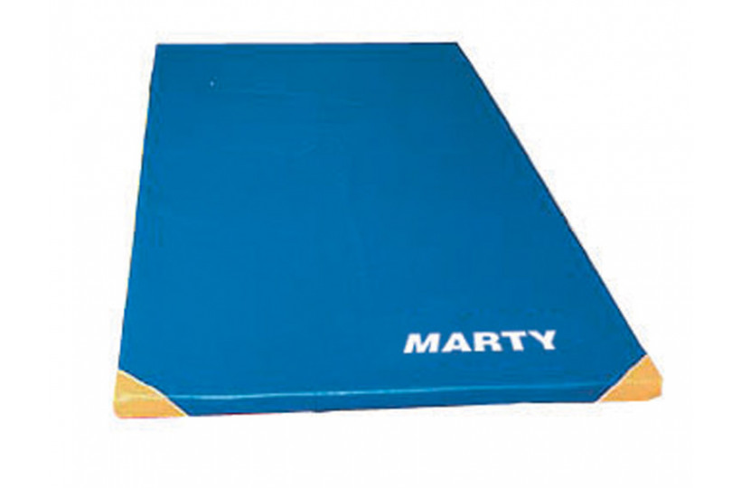 Tapis Gym Housse Renforce Epaisseur 4cm Velcro Marty Sports