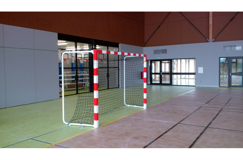 buts-hand-competition-alu-a-cages-arrieres-repliables-rougeblanc