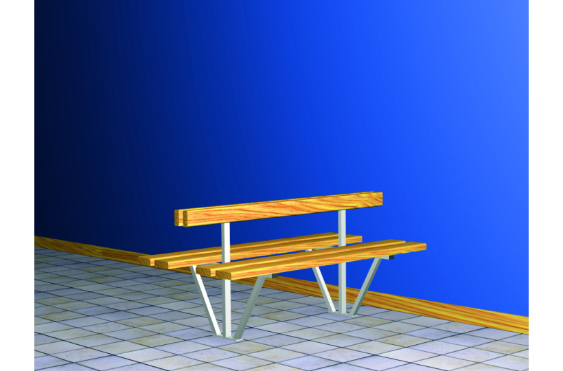 banquette-centrale-double-sapin-support-ral-blanc